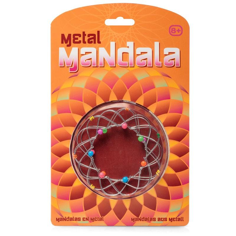 Metal Mandala Fiddle Fidget Toy