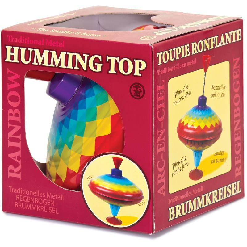 Rainbow Humming Spinning Top