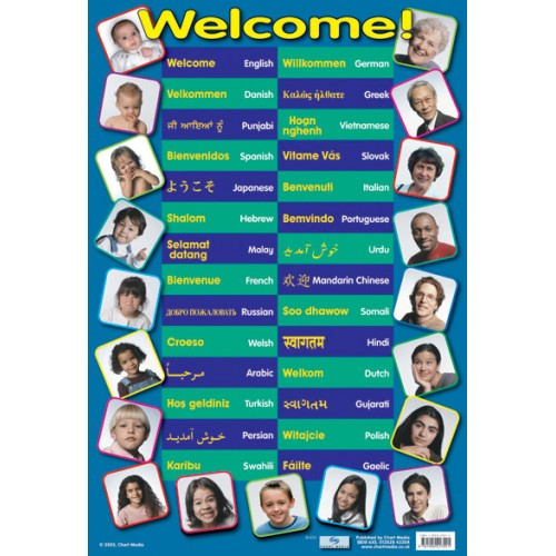 Welcome Languages Poster