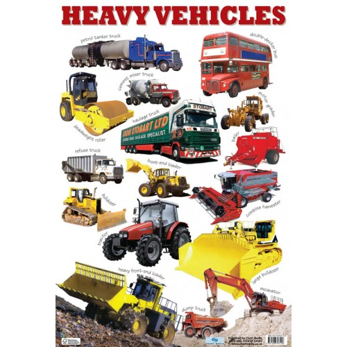 Heavy Vehicles Poster