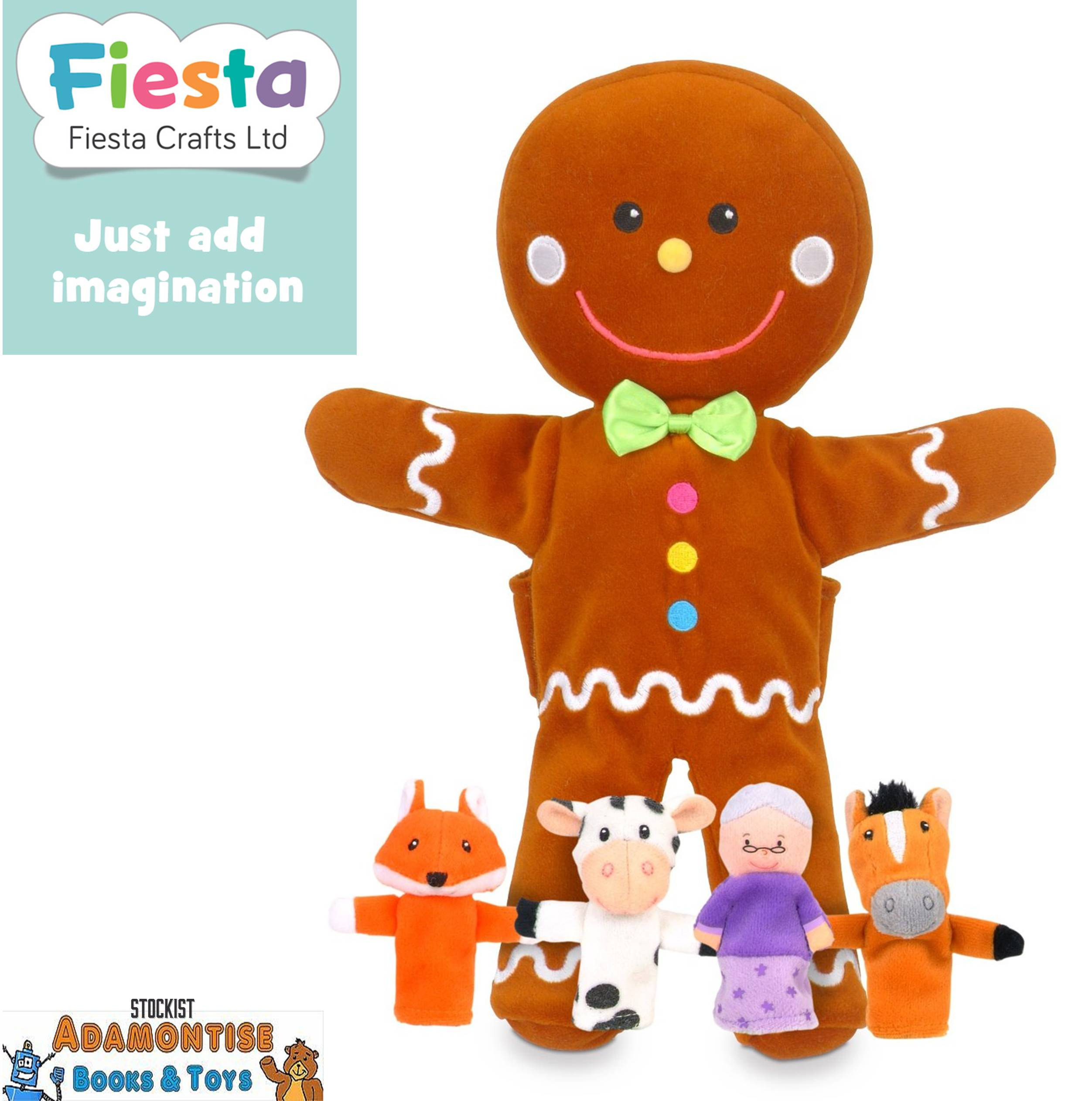 Gingerbread Man Storytelling Hand Puppet
