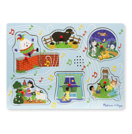 Nursery Rhyme Sound Peg Puzzle #2