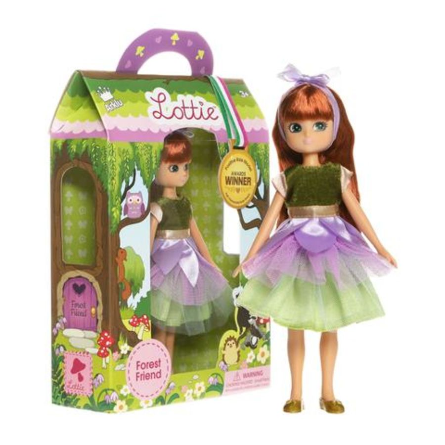 Forest Friend Fairy Lottie Doll