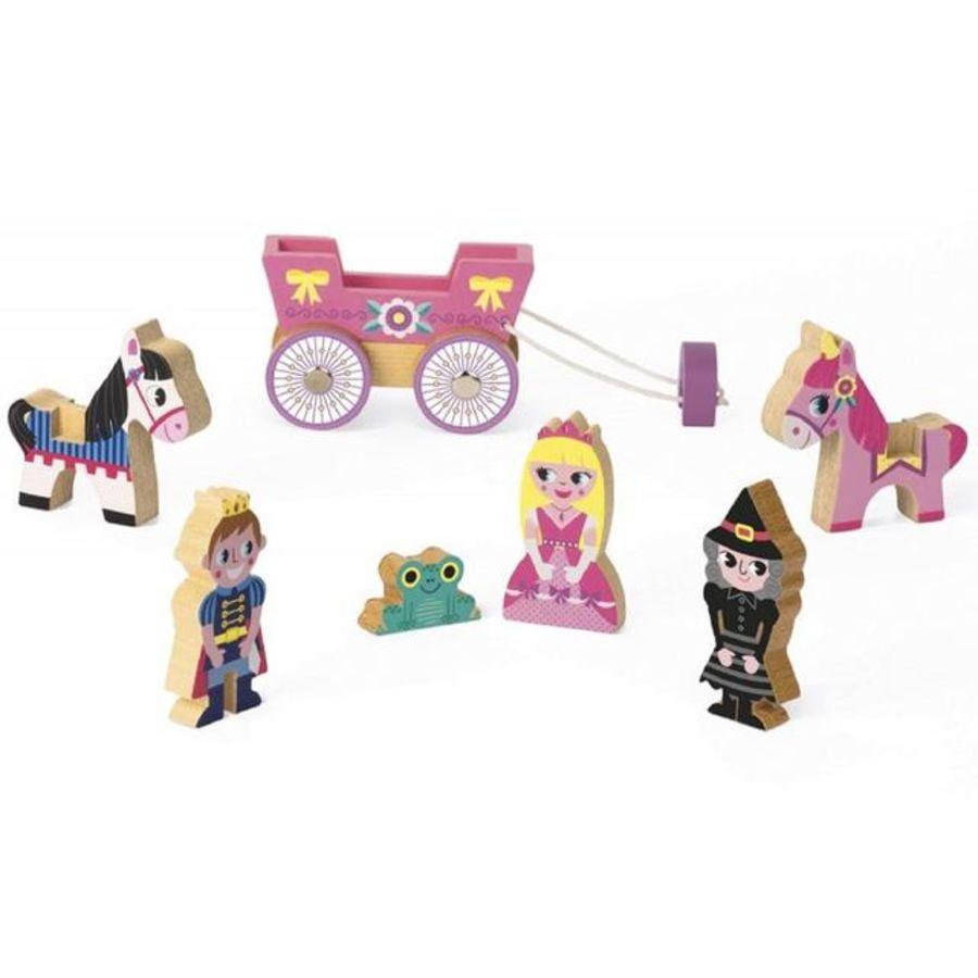 Mini Wooden Princess Fairyale Set