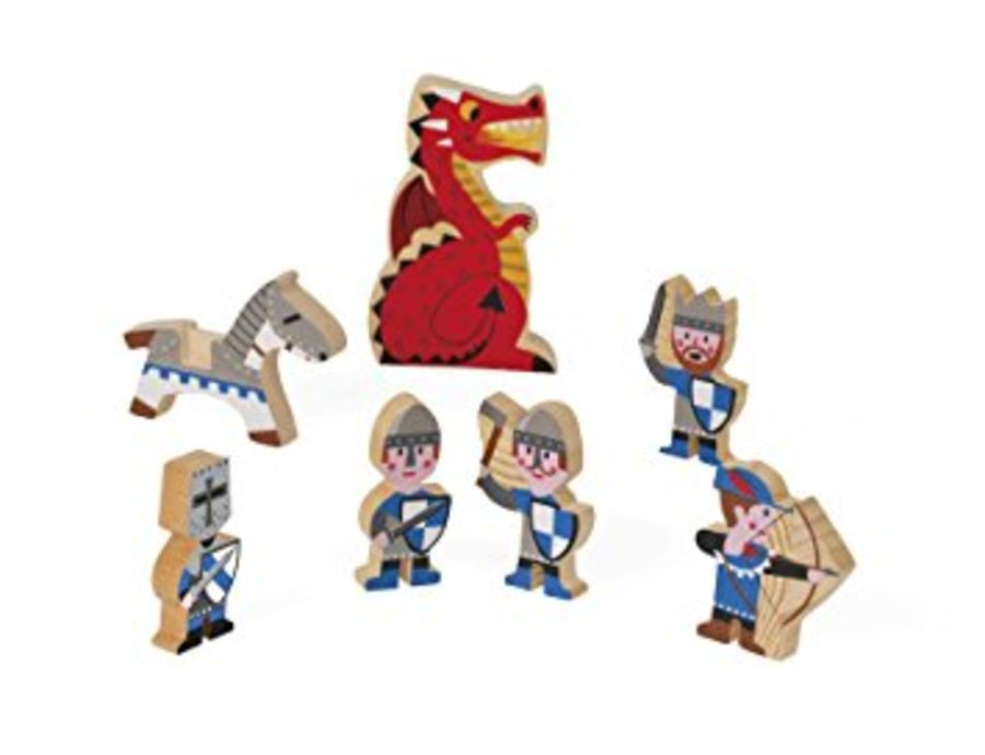Mini Story Wooden Knight Castle Set