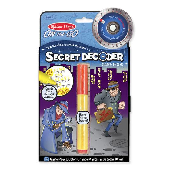 Secret Decoder Travel Game Book