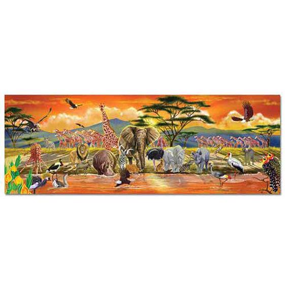 Safari Floor Puzzle 100pcs