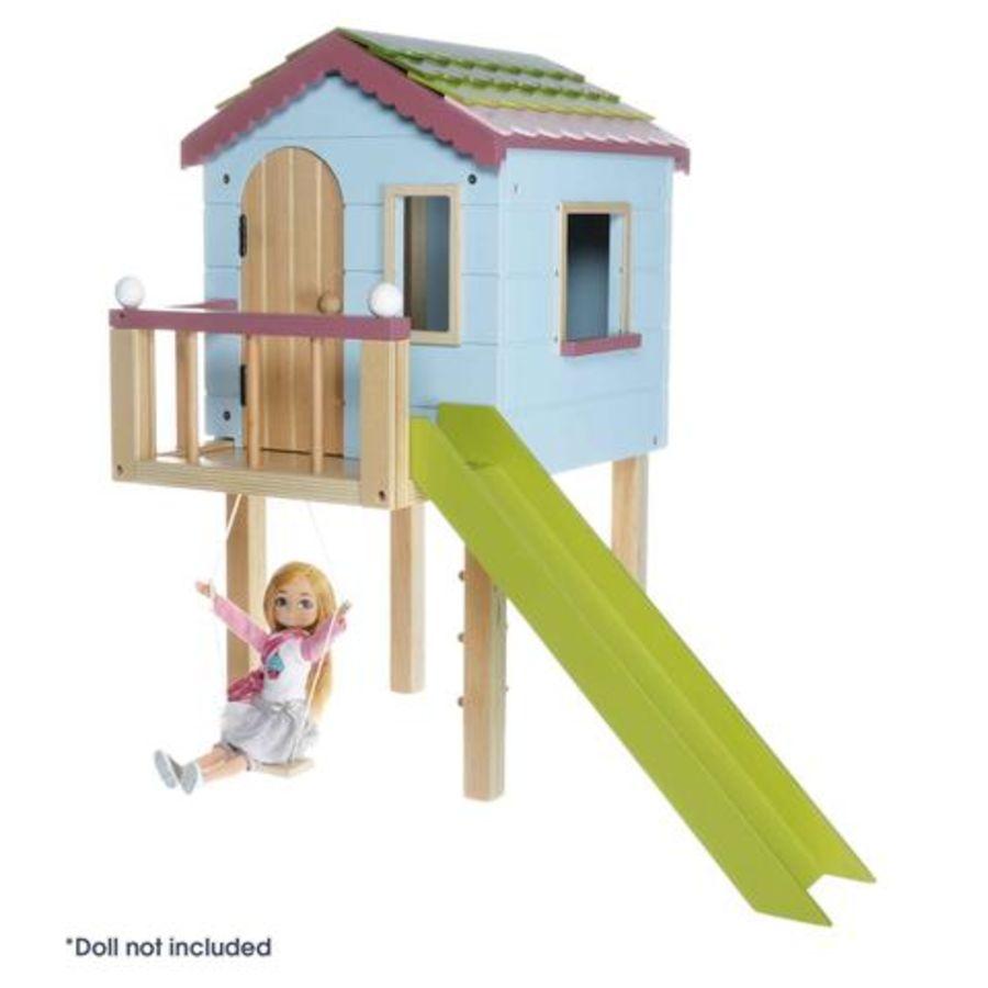 Lottie Doll Wooden Tree House