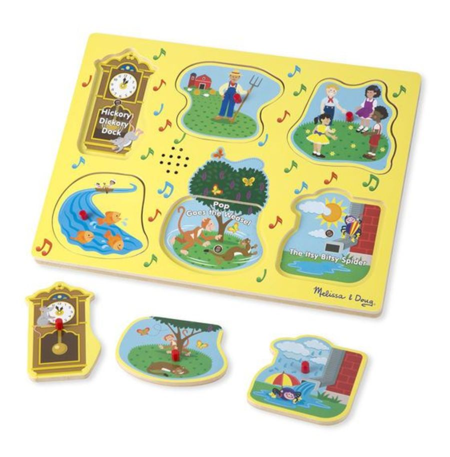 Nursery Rhyme Sound Peg Puzzle #1