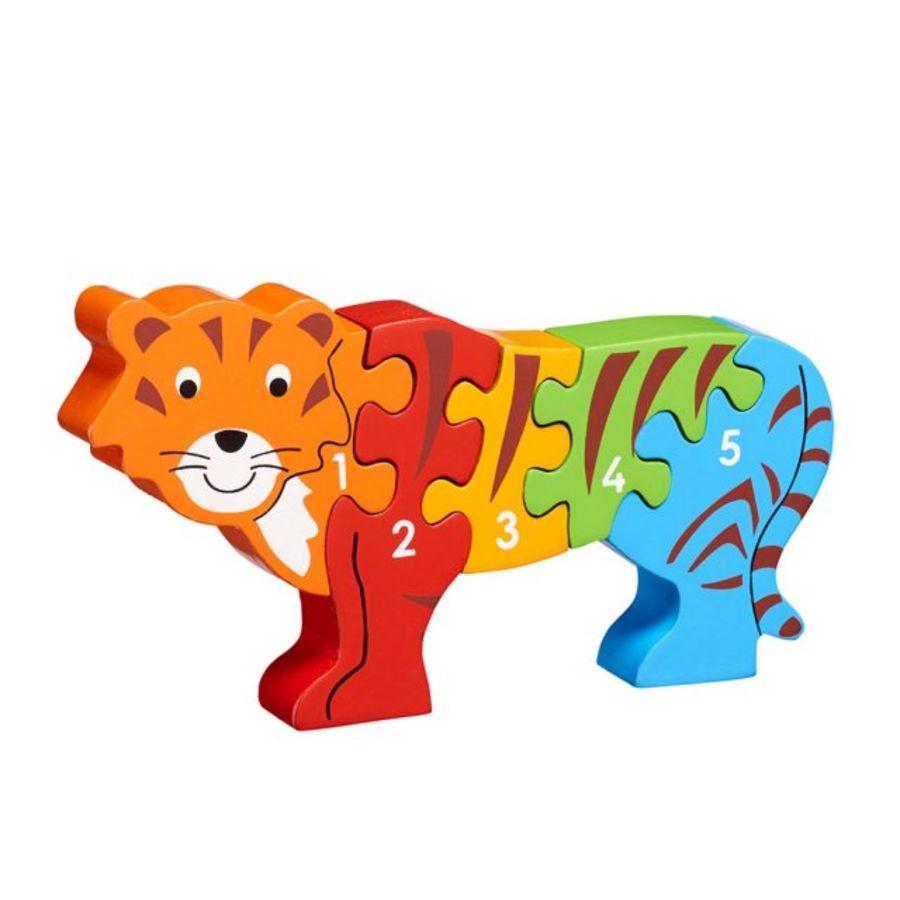 Lanka Kade Tiger 1-5 Puzzle