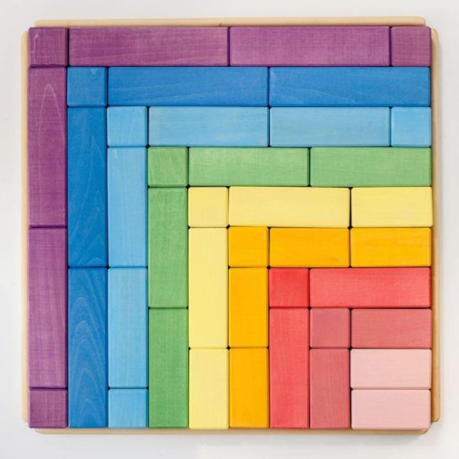 Raduga Grez Large Rainbow Building Blocks