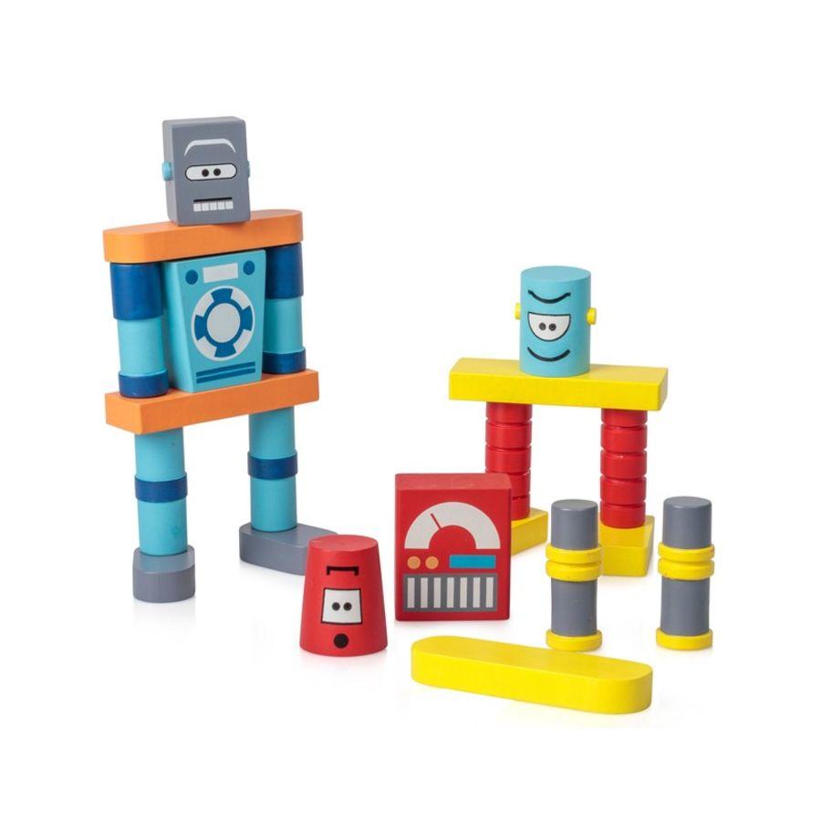 Robot Wooden Building Blocks