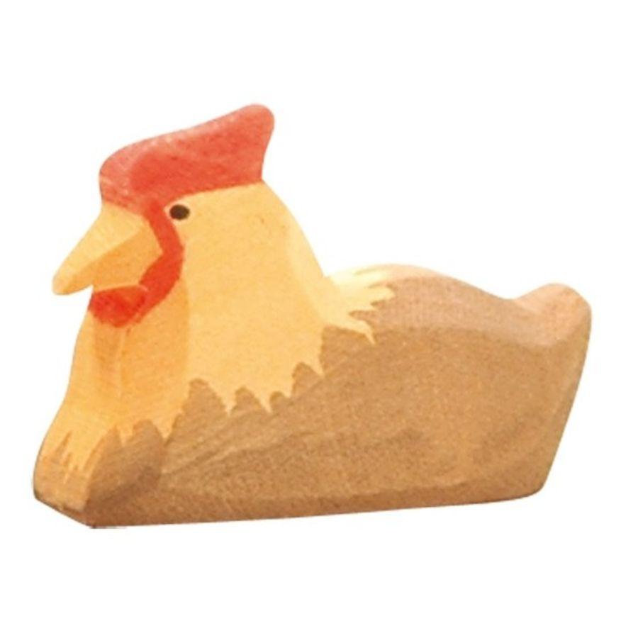 Ostheimer Brown Hen on Nest
