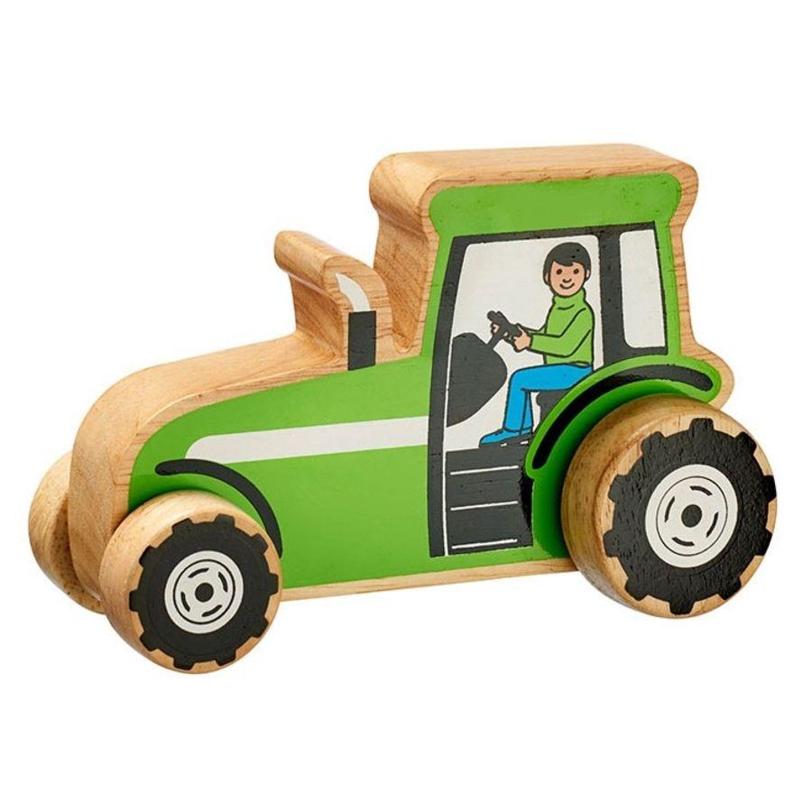 Lanka Kade Green Wooden Tractor