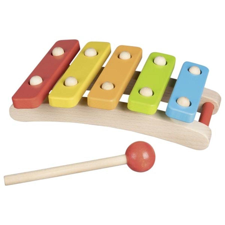 Goki Wooden Rainbow Xylophone