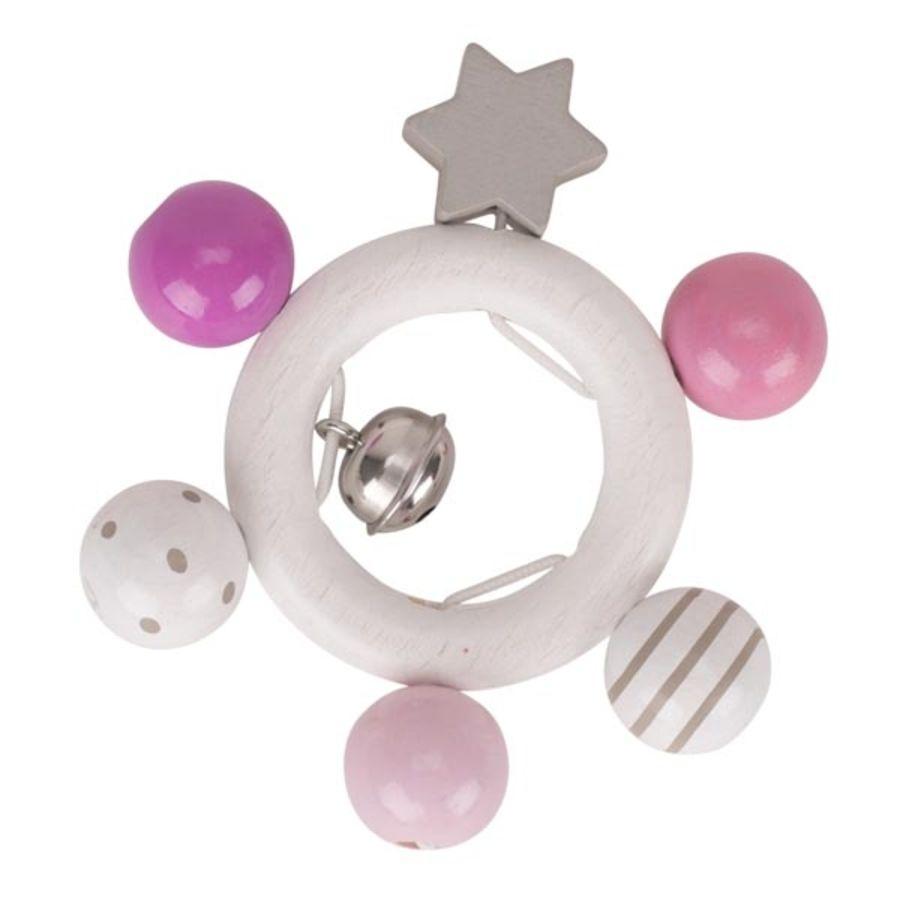 Pink & White Star Grasper