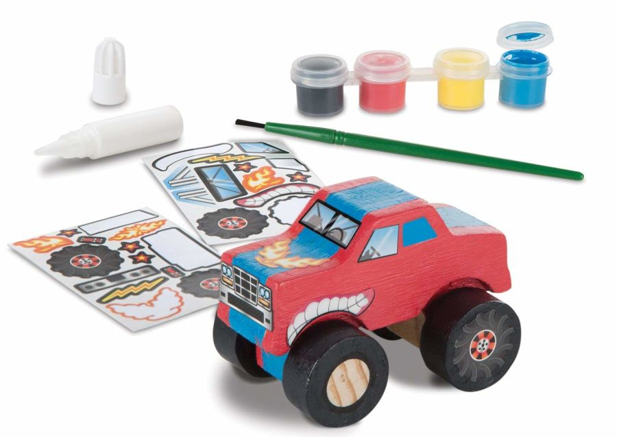 Decorate Your Own Monster Truck