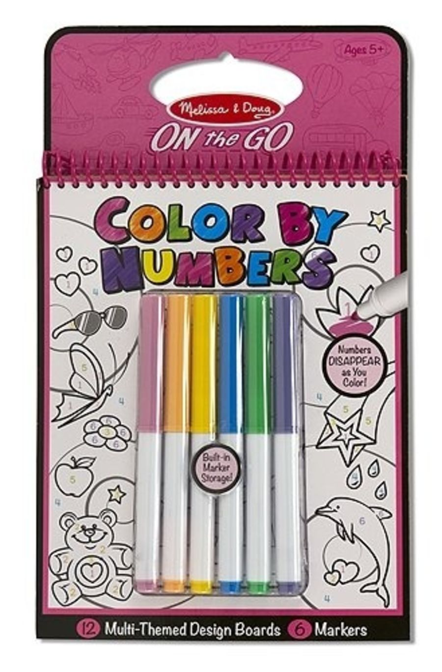 Colour By Numbers Activity Book