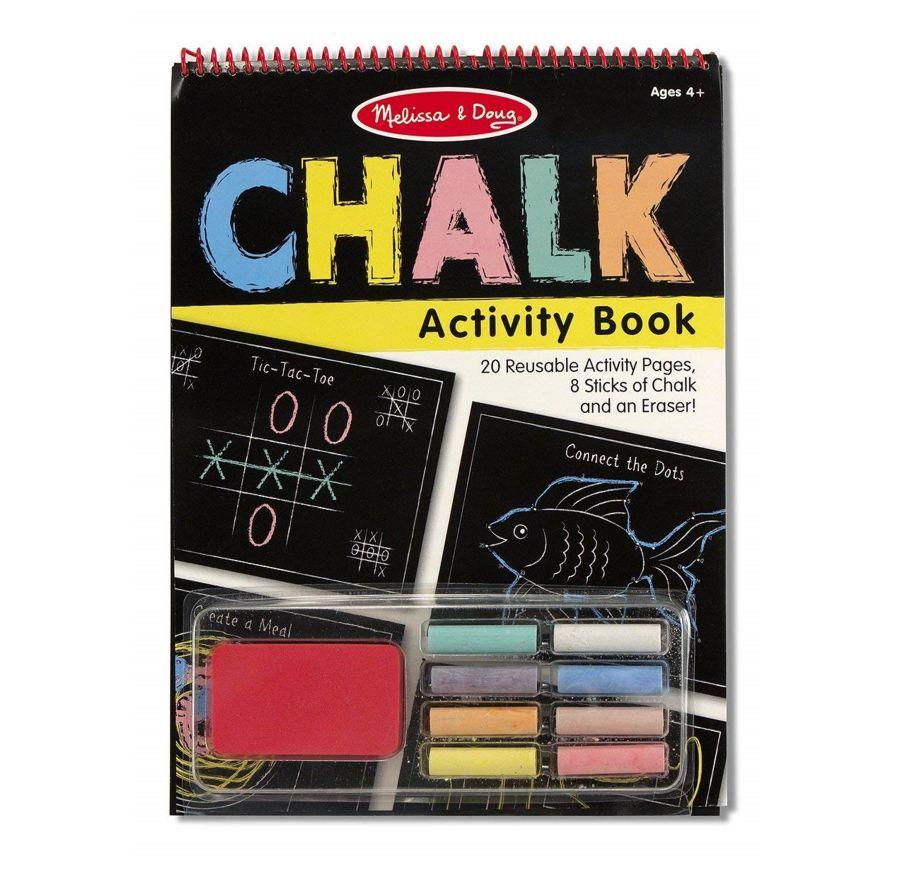 Wipe Clean Chalk Activity Book