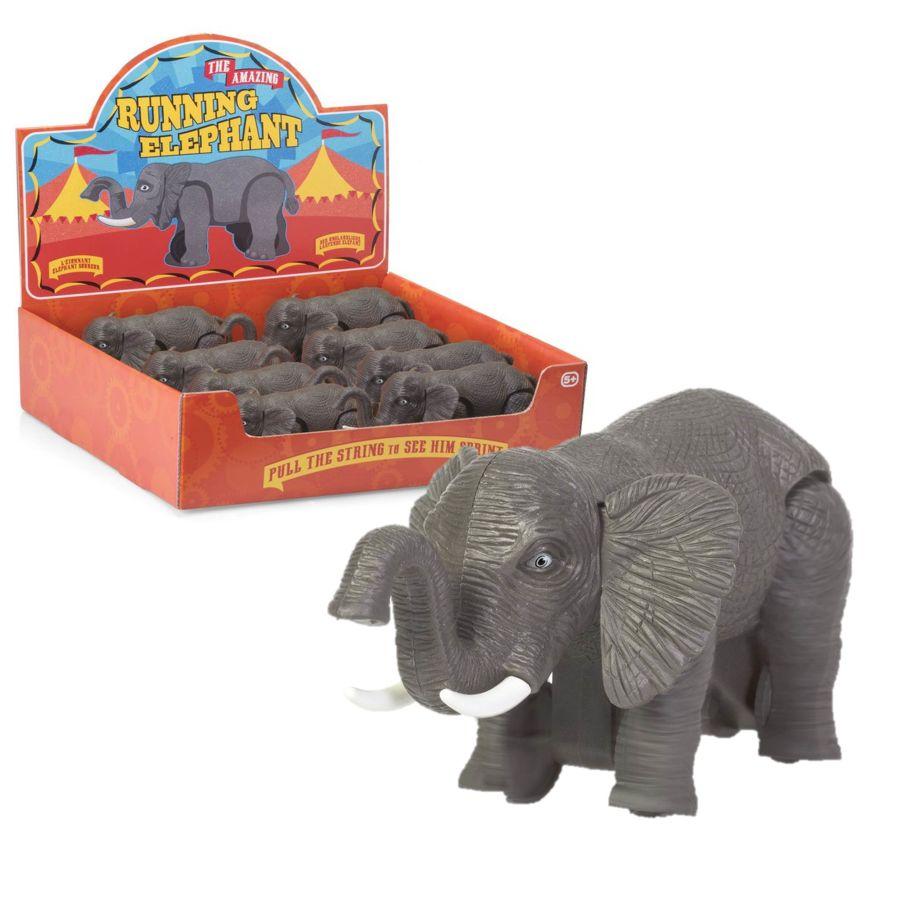 The Amazing Running Elephant