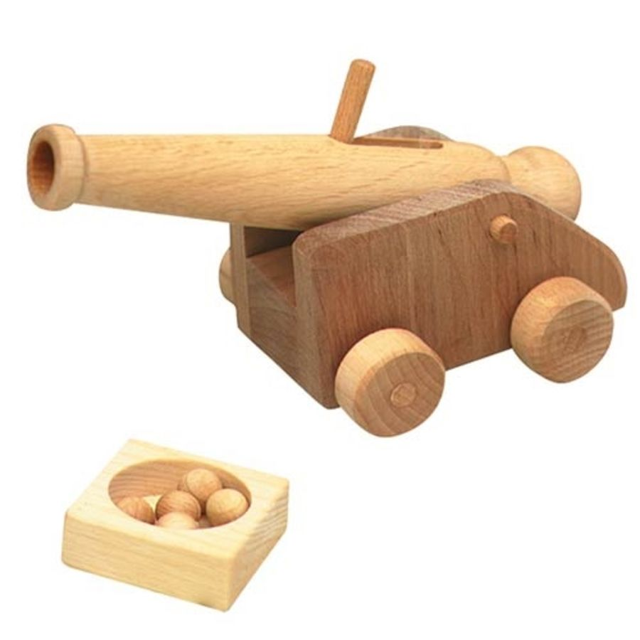 Ostheimer Small Cannon with 5 Balls