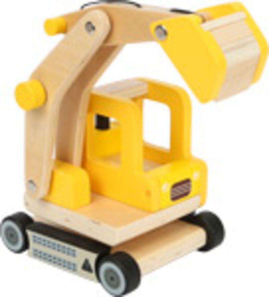 Smallfoot Wooden Excavator