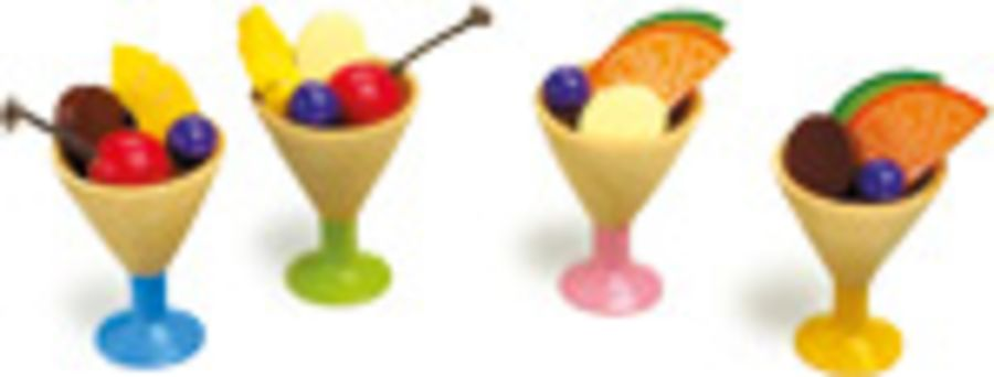 Smallfoot Fruit Sundae Set