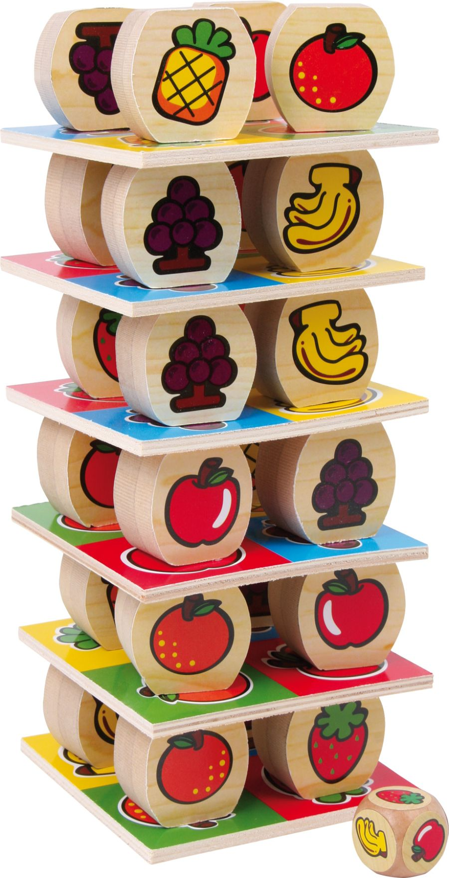 Smallfoot Fruit Tower Game