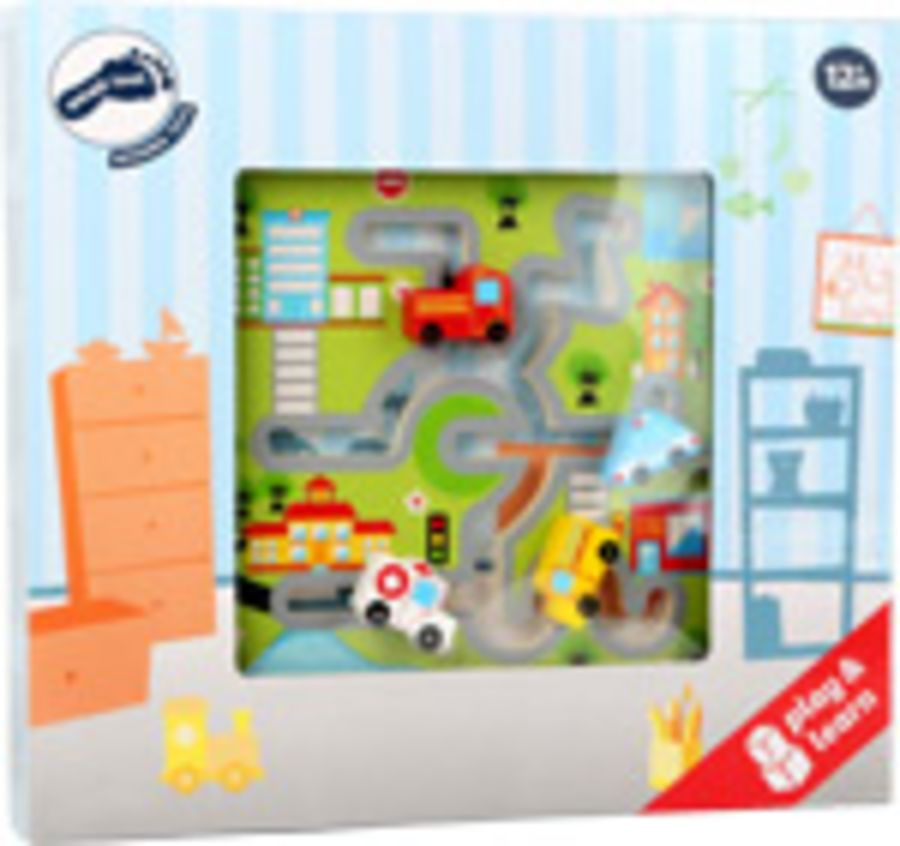 Smallfoot Emergency Vehicle Maze Puzzle