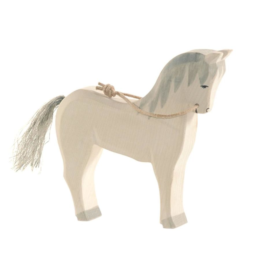 Ostheimer White Horse with Reins