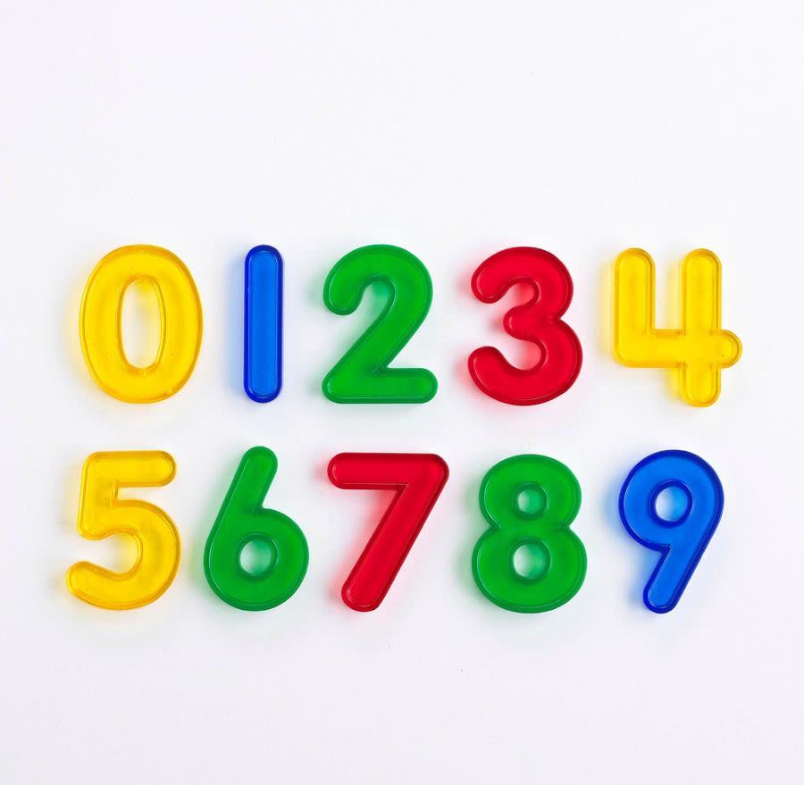 Edx Transparent Number Set