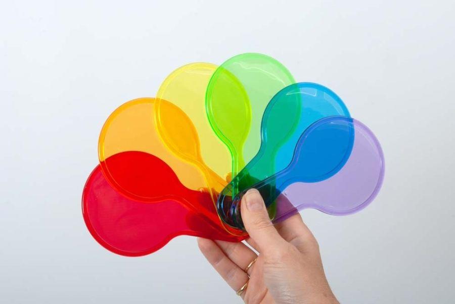 TickiT Translucent Colour Paddles
