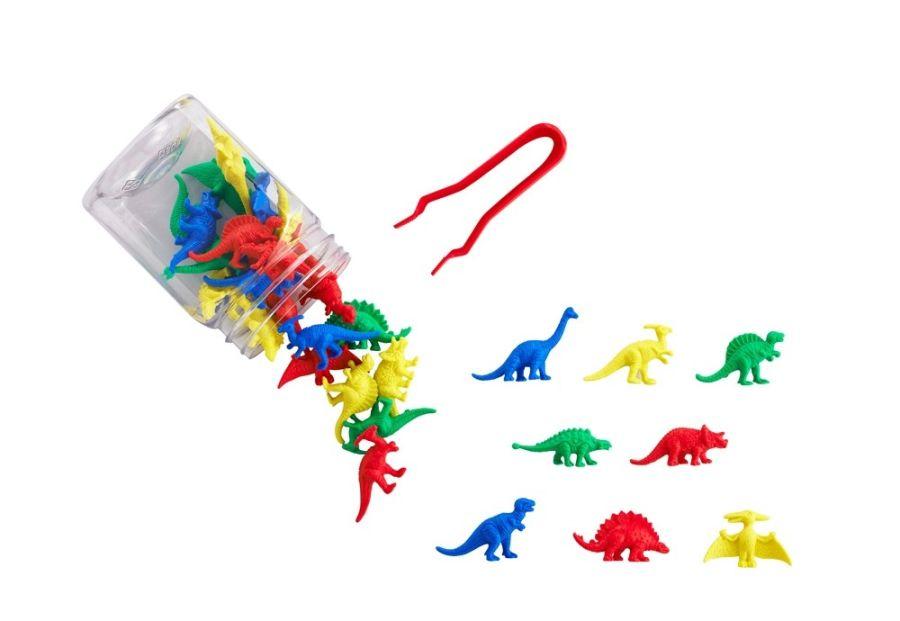 TickiT 32pc Dinosaur Counters Jar