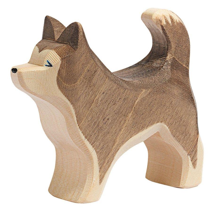 Ostheimer Brown Sled Dog Standing