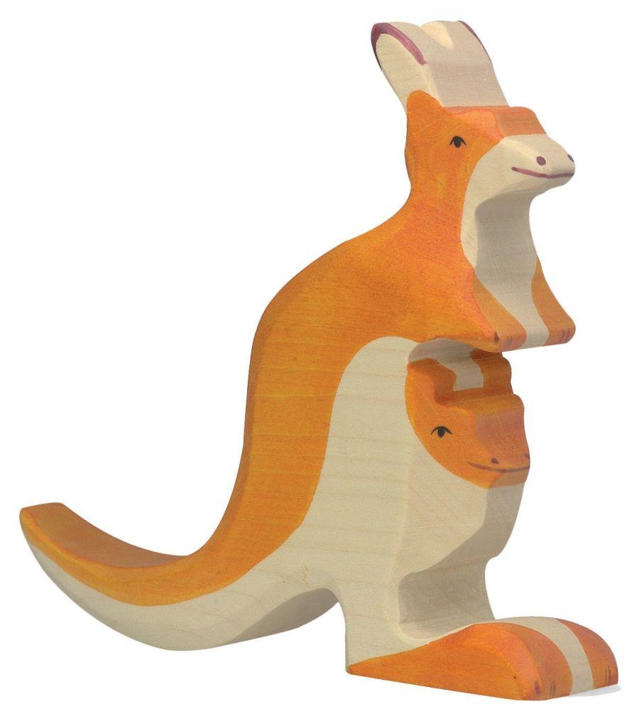 Holztiger Kangaroo