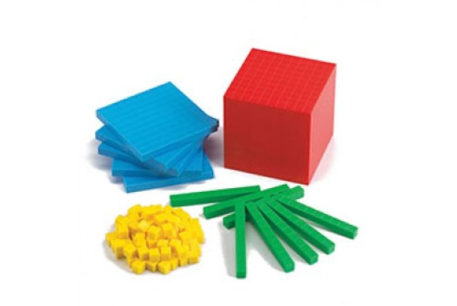 Edx Base Ten Maths Set 121 Pieces