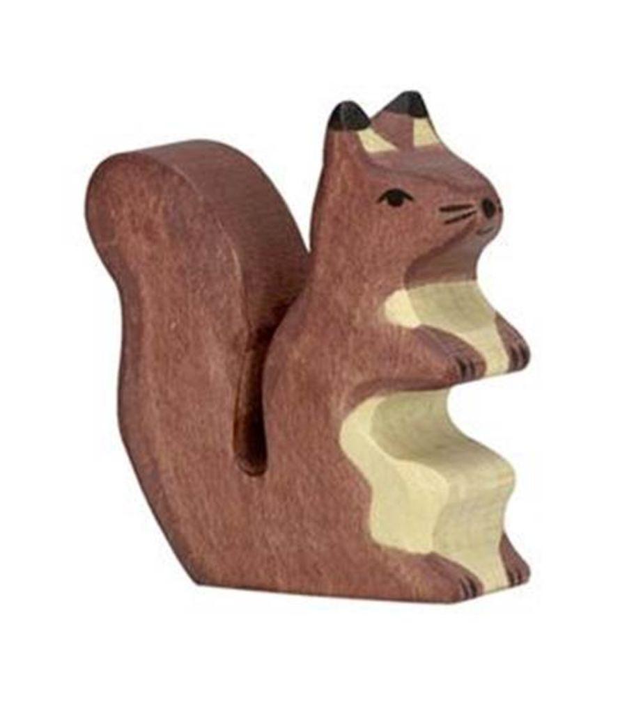 Holztiger Squirrel Brown Sitting