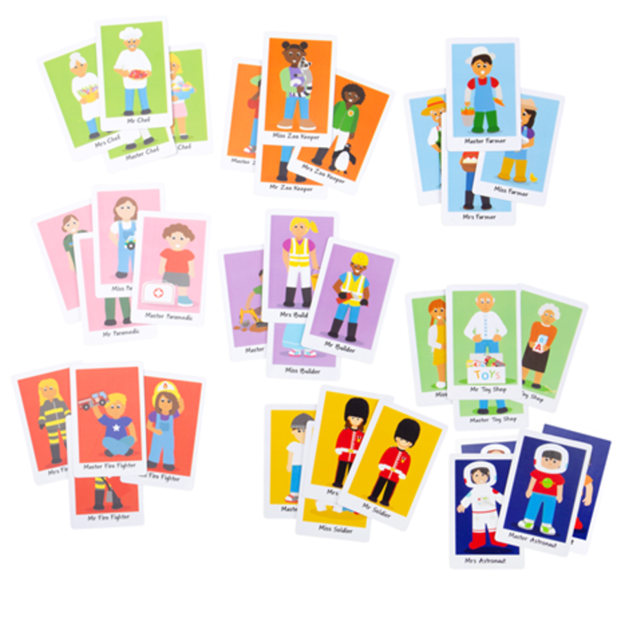 Bigjigs Happy Families Card Game