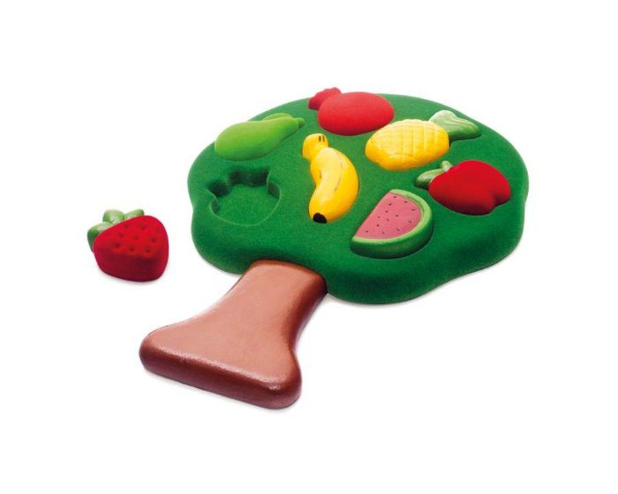 Rubbabu 3D Fruit Shape Sorter Puzzle