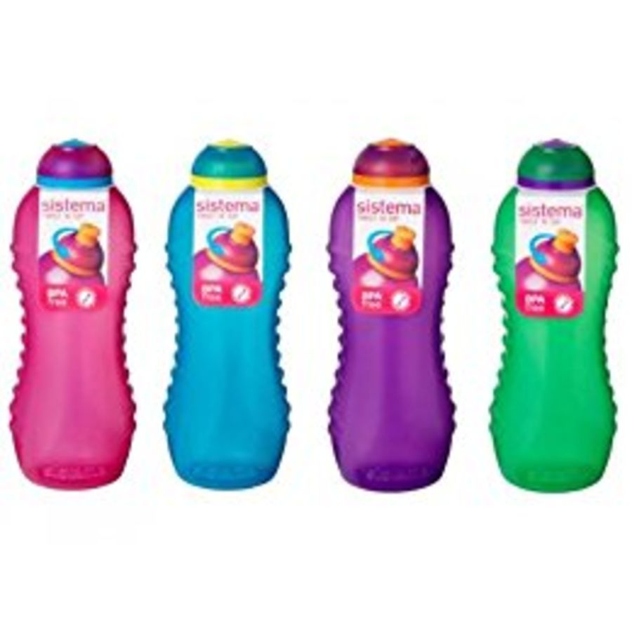 460ml Sistema Twist 'n' Sip Water Bottle