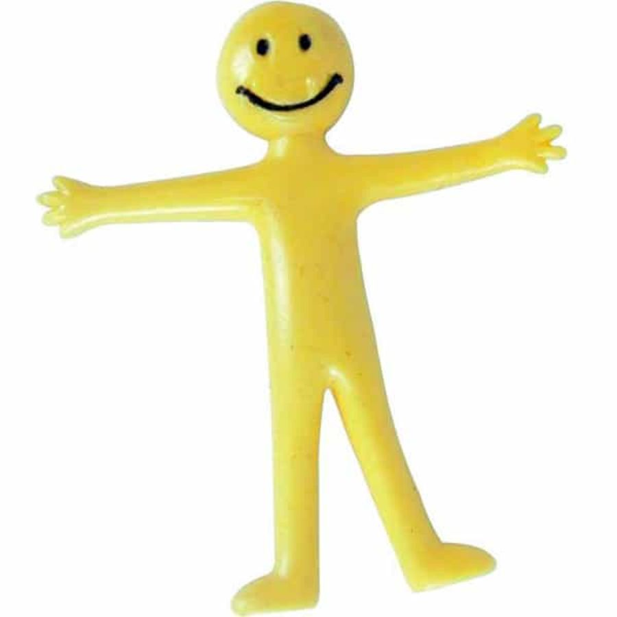 Cute Yellow Stretchy Man Person