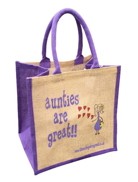 Aunties are Great Bag