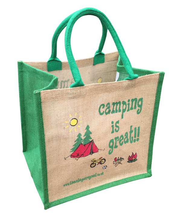 Camping is Great Bag