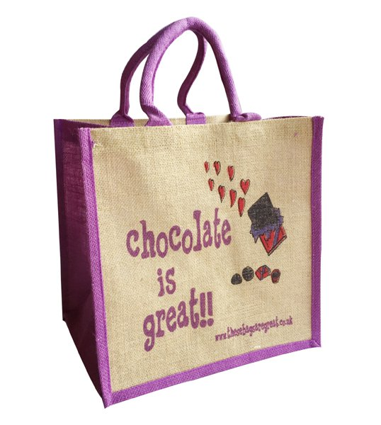 Chocolate is Great Bag
