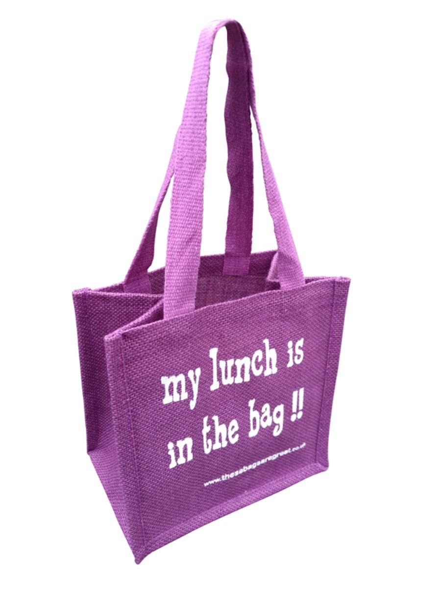 Lunch Bag (My Lunch) Purple