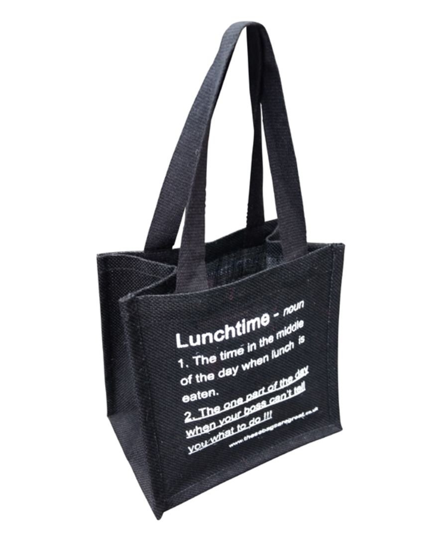 Lunch Bag (Noun) Black