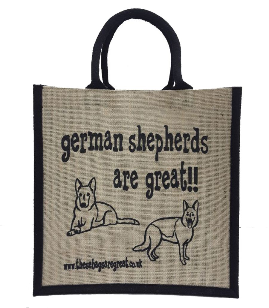 German Shepherds are Great Bag