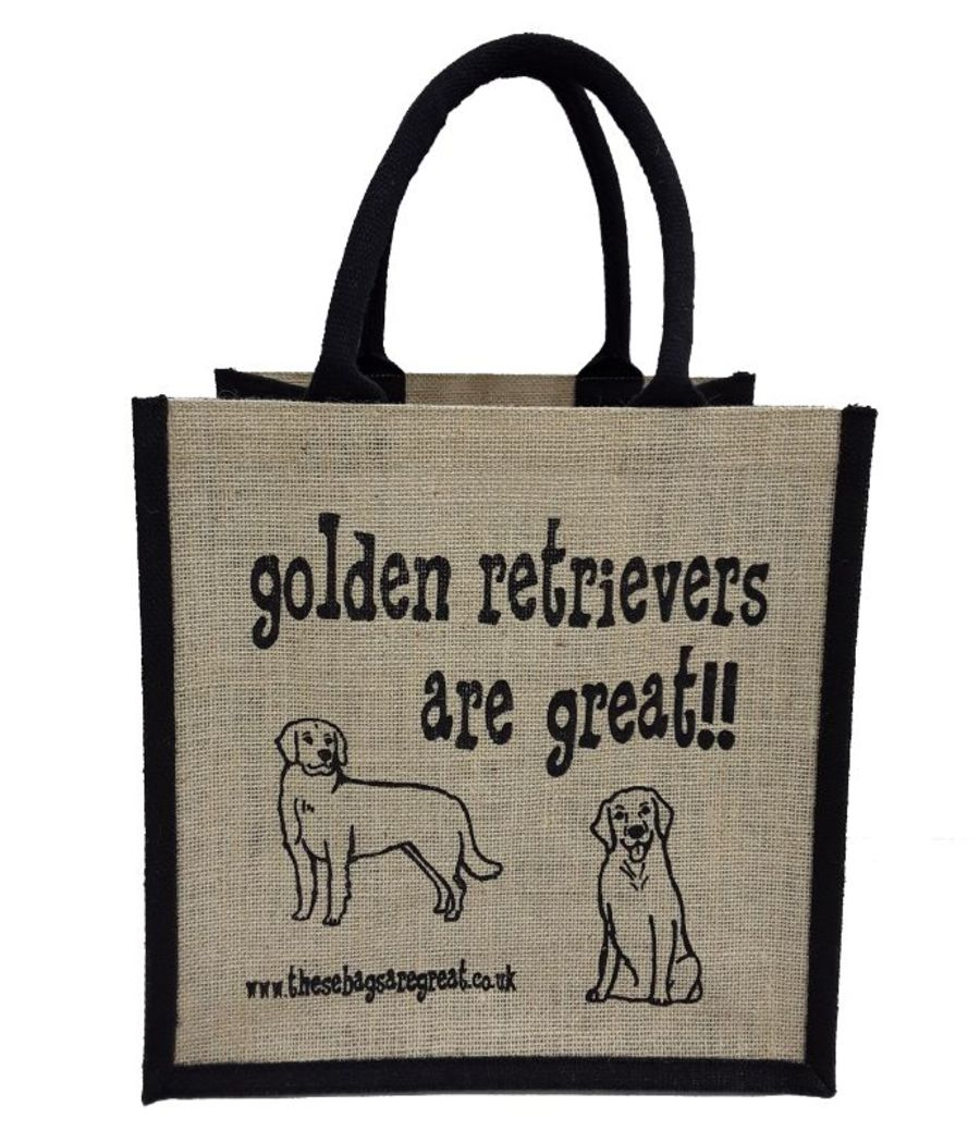 Golden Retrievers are Great Bag