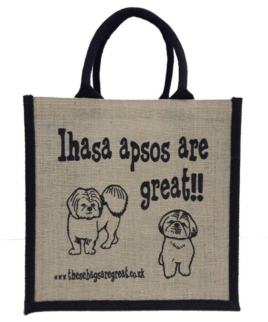 Lhasa Apsos are Great Bag