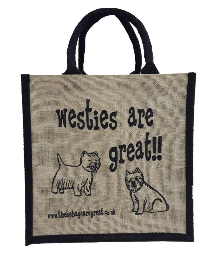 Westies are Great Bag